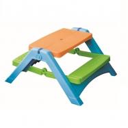 Skladací stolček s lavicami