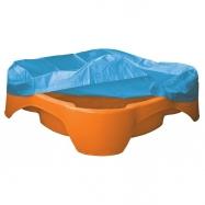 Pískoviště-bazének Čtverec s plachtou