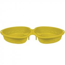 Pískoviště - bazének Srdce s krytem