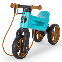 Odrážadlo FUNNY WHEELS Rider SuperSport tyrkys 2v1