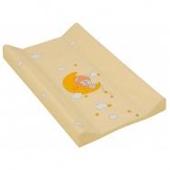 Prebaľovacia podložka s pevnou vložkou 70 x 50 cm Žltá