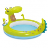 Bazénik krokodíl s vodopádom 198x160x91cm