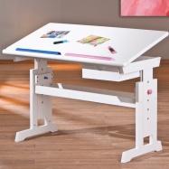 Dětský rostoucí psací stůl BARU růžovo-modrý