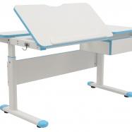 Rosnące biurko dla dzieci Fuxo niebieskie