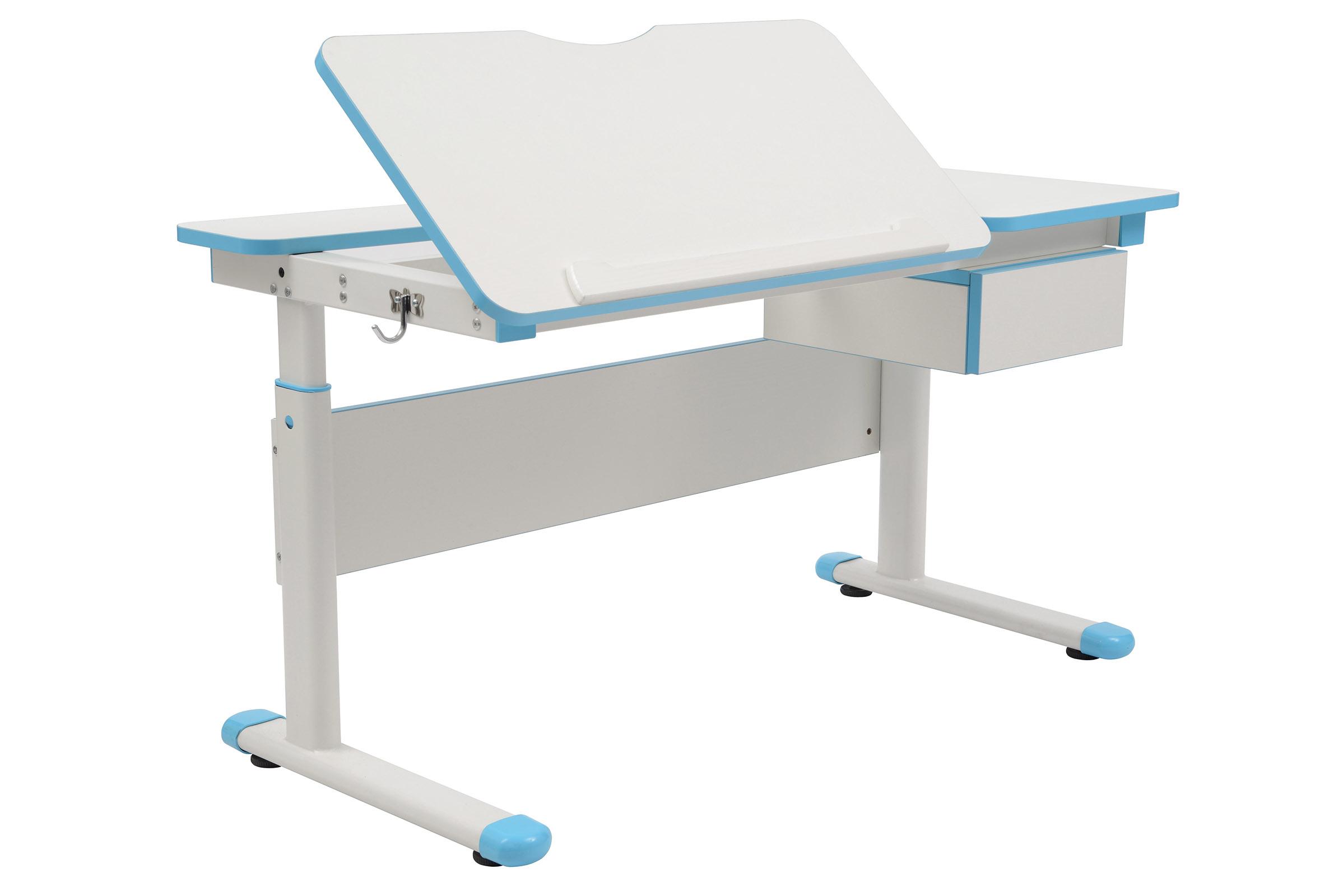 Rostoucí stůl Fuxo modrý