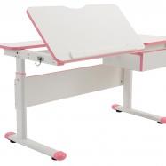 Rosnące biurko dla dzieci Fuxo różowe