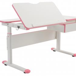 Rostoucí stůl Fuxo růžový