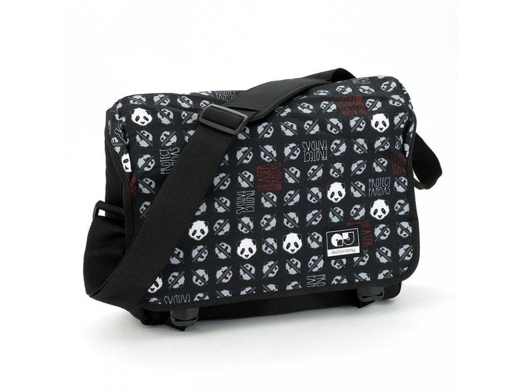 e68037919491 Taška cez rameno Autonomy Sense Laser Panda