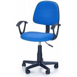 Dětská otočná židle DARIAN BIS modrá