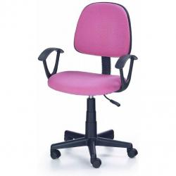 Dětská otočná židle DARIAN BIS růžová