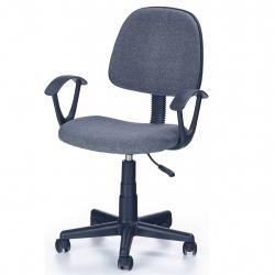 Dětská otočná židle DARIAN BIS šedá