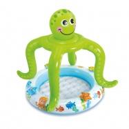Bazének se stříškou chobotnice 102x104cm