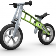 FirstBike STREET Green s brzdou