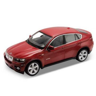 Welly - BMW X6 1:24 červená