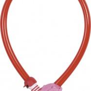 Zámok na bicykel - pink