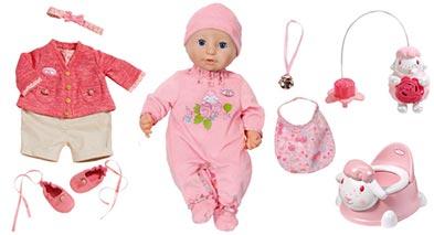 Panenka Baby Annabell s výbavičkou