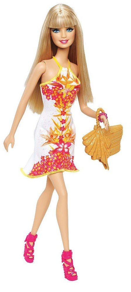 Mattel Barbie tropická party