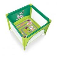 Ohrádka Baby design Joy 04 zelená
