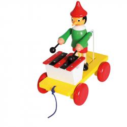 Ťahacie Pinocchio s xylofónom