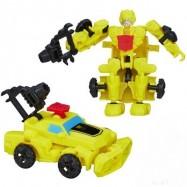 Transformers 4 construct bots jezdci - žltý