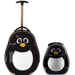 Zestaw podróżny dla dzieci Pingwin