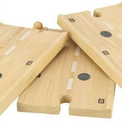 Dlouhá dřevěná cesta