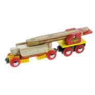 Vagónek s jeřábem na koleje