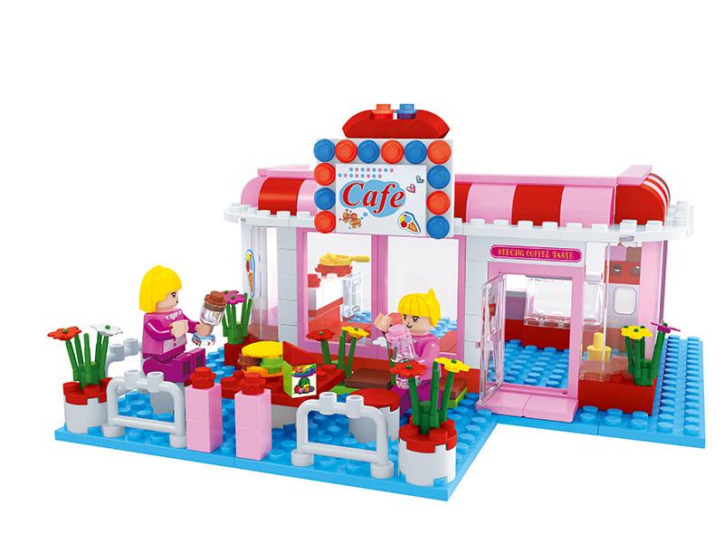 Stavebnice cafe shop 243 dílů