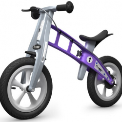 First Bike STREET Violet s brzdou