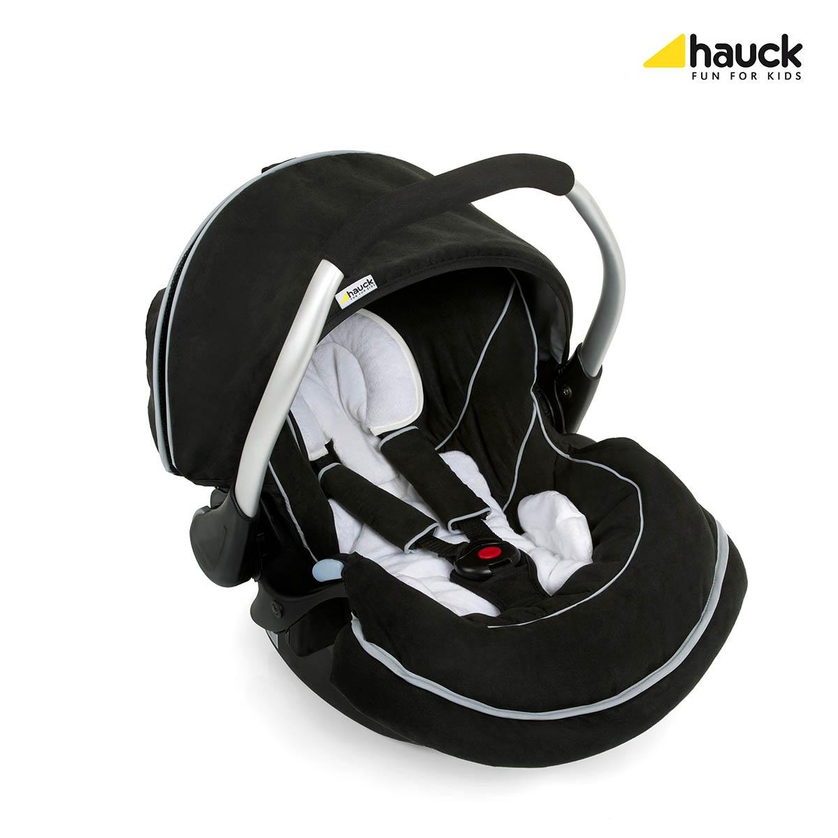 Autosedačka Hauck ZeroPlus Select black/black