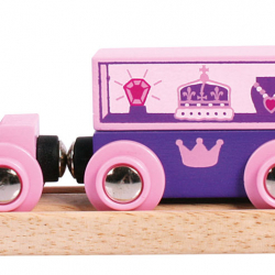 Bigjigs Toys Pociąg Księżniczki