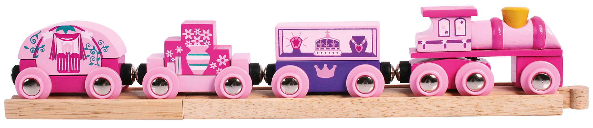 Vlak pro princezny + 3 koleje