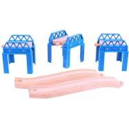 Set mostné konštrukcie
