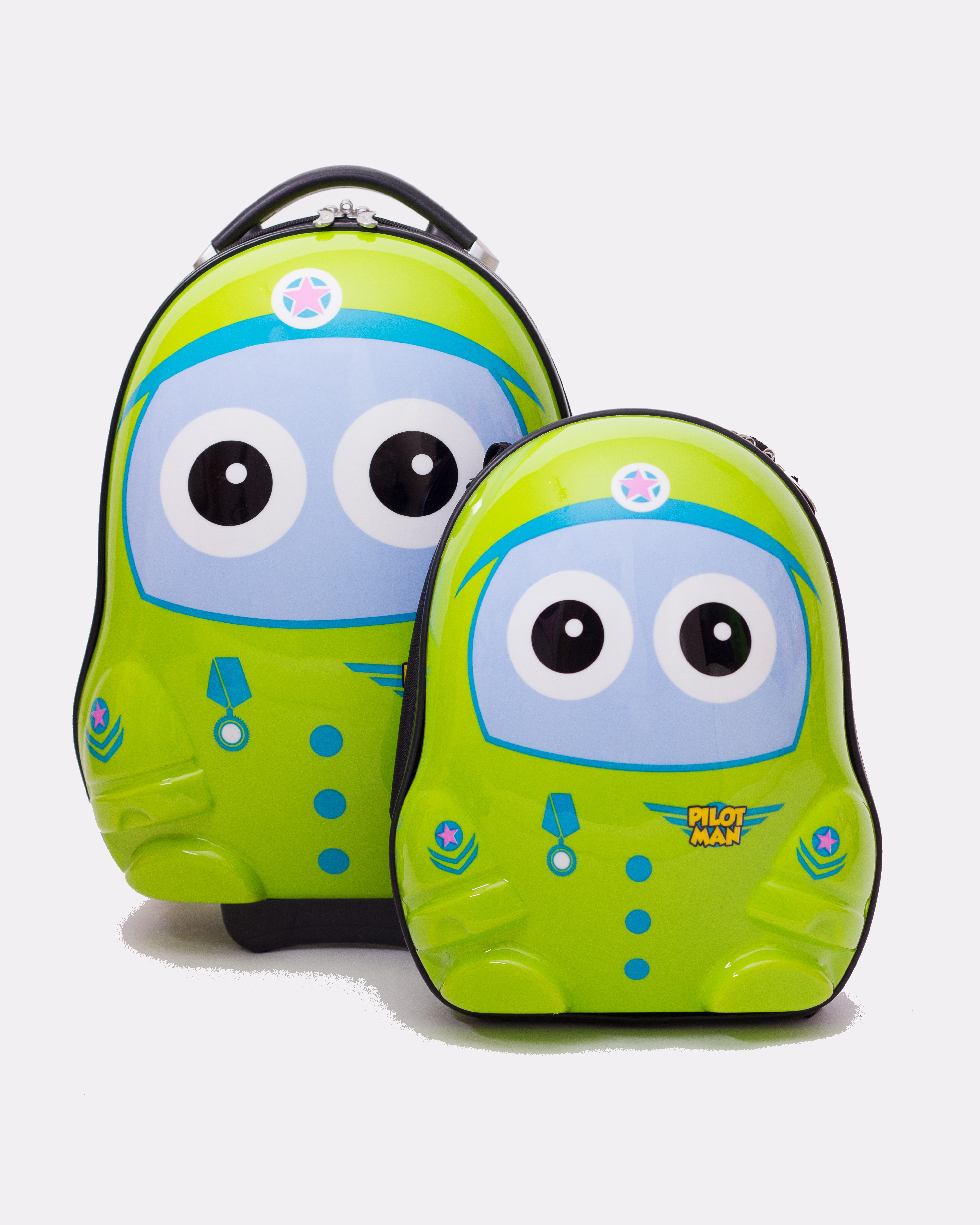 Dětská sada batoh a kufr Pilot