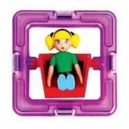 Otočná figurka - Magformers holčička