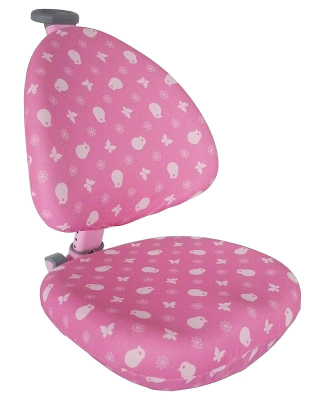 Potah na židli Klára a Bára růžový