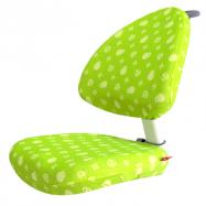 Pokrowiec na krzesło Klara i Bara zielony