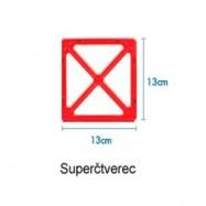 SUPER čtverec 1ks
