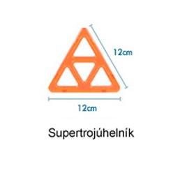 SUPER trojúhelník 1ks