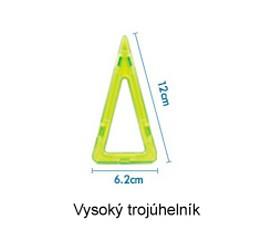 Vysoký trojúhelník 1ks