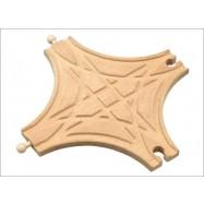 Dřevěné vláčkodráhy - Křižovatka