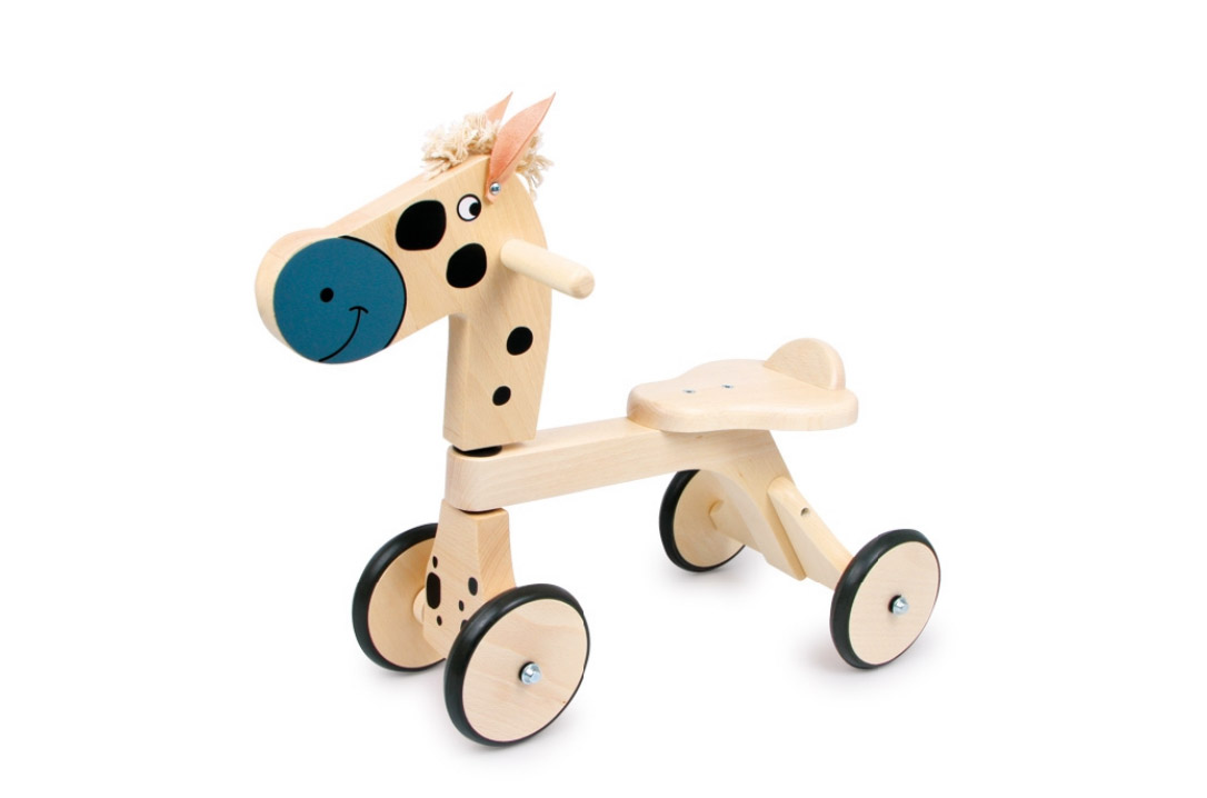 Dřevěné odrážedlo koník Guido