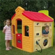 Dětský městský domek na hraní - Evergreen