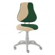 Rastúca stolička Fuxo S Line Suedine zeleno-béžová 799