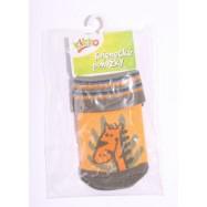 Kojenecké ponožky KIKKO 0-6 měsíců oranžové