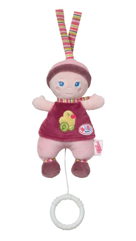 BABY born for babies Panenka s natahovacím hracím strojkem 821794