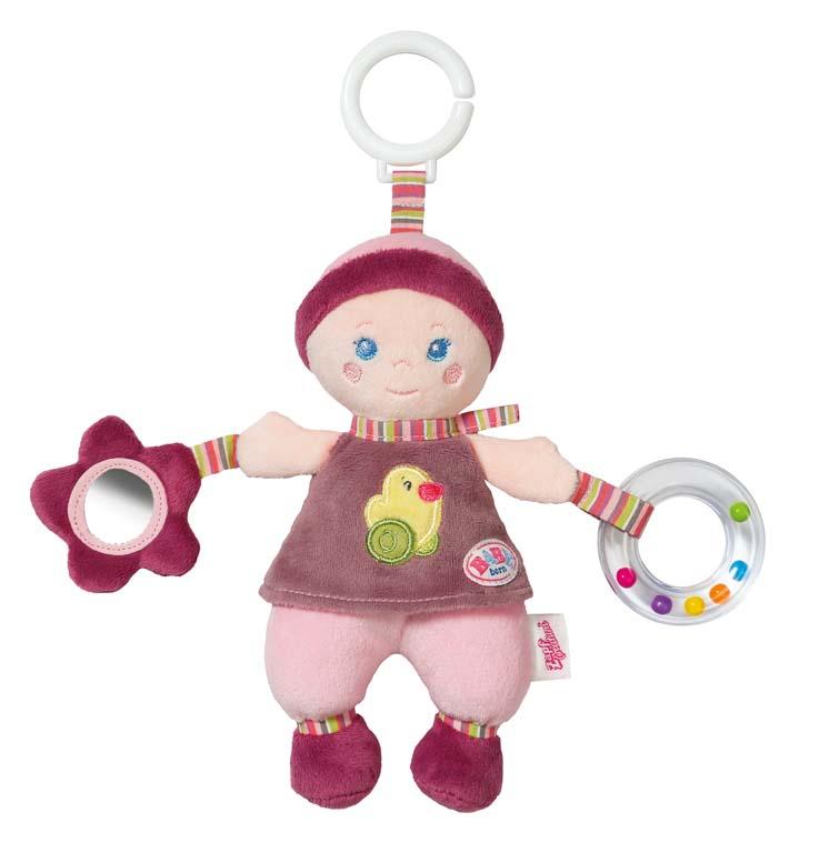 BABY born for babies Závěsná panenka s aktivitami pro miminka 821824