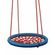 Hojdacie kruh (priemer 100 cm) červeno modrý