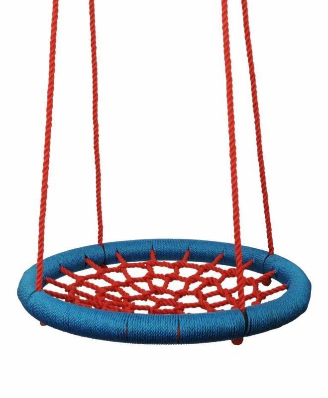 Houpací kruh (průměr 100 cm) červeno modrý