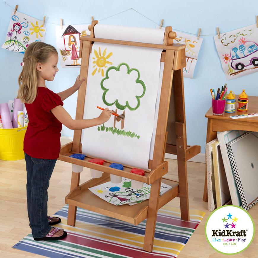 Dětská tabule - malířský stojan